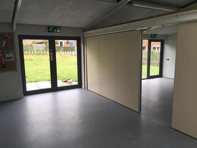 1st Place main hall with folding doors